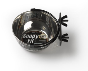 Midwest Snap'y Fit Water/Feed Bowl