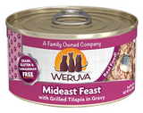 Weruva Cat Grain-Free Mideast Feast with Grilled Tilapia in Gravy