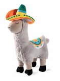 Fringe Llama Party Time Plush