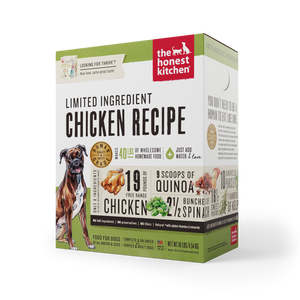 Honest Kitchen Limited Ingredient Chicken Recipe