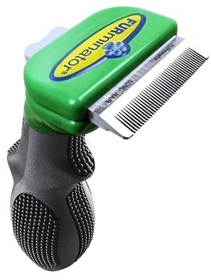 Furminator deShedding Brush for Long Hair Dogs