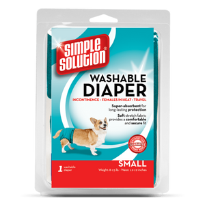Simple Solution Large Washable Diaper for Dogs