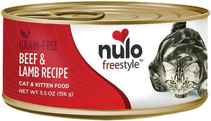 Nulo Cat Grain-Free Beef & Lamb Recipe