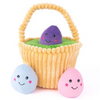 Zippy Paws Easter Egg Basket