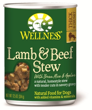 Wellness Grain-Free Lamb & Beef Stew