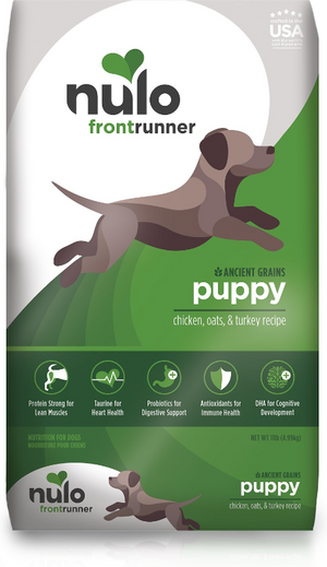 Nulo Front Runner Puppy Chicken Oats & Turkey