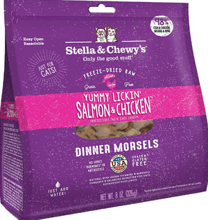 Stella & Chewy's Cat Freeze-Dried Salmon & Chicken