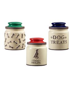 Global Amici Rustic Dog Canisters Assorted