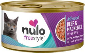 Nulo Cat Grain-Free Minced Beef & Mackerel in Gravy