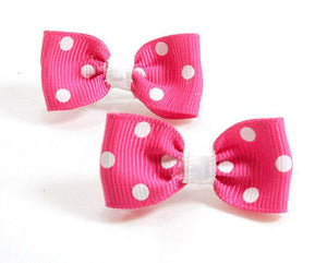 Hot Bows With French Clips