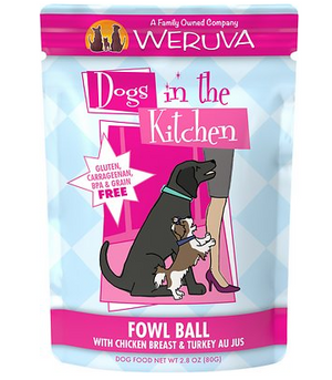 Weruva Dogs in the Kitchen Fowl Ball