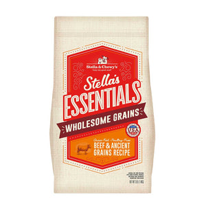 Stella & Chewys Essentials Wholesome Grains Beef & Ancient Grains Recipe
