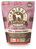 Primal Raw Frozen Turkey & Sardine Formula