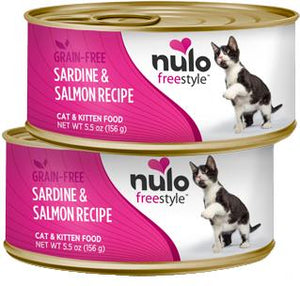 Nulo Cat Grain-Free Trout & Salmon Recipe