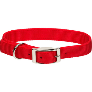 "Coastal 1"" Double-Ply Dog Collar"