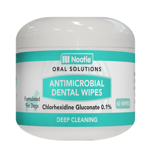 Nooties Antimicrobial Dental Wipes 60 ct.