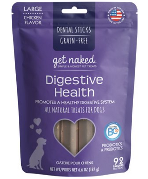Get Naked Digestive Health Dental Chew Sticks