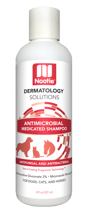 Nooties Dermatology Antimicrobial Shampoo 8 oz.