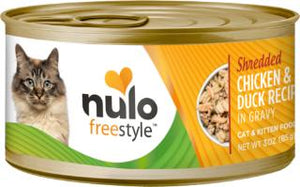 Nulo Cat Grain-Free Shredded Chicken & Duck in Gravy