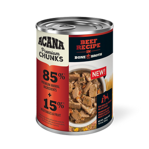 Acana Premium Chunks Beef Recipe