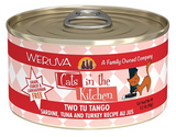 Weruva Cats in the Kitchen Two Tu Tango Sardine, Tuna & Turkey Au Jus