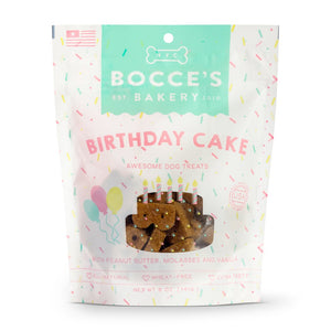 Bocces Birthday Cake 5oz.