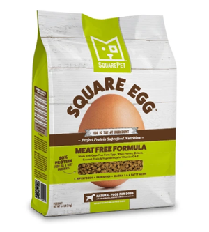 Square Pet Egg Meat Free Diet