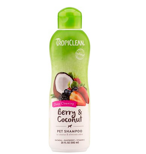 Tropiclean Berry Clean Shampoo 20 oz.