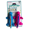 Super Cat Plush Gators With Catnip Spray