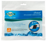 Drinkwell Replacement Activated Carbon Filters 3ct.