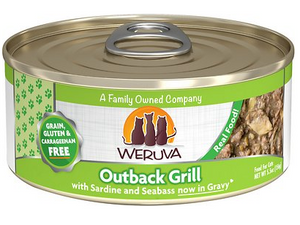 Weruva Cat Grain-Free Outback Grill with Trevally & Barramundi