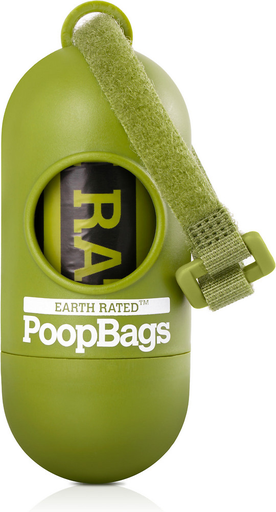 Earth Rated Dispenser with Poop Bags Lavender
