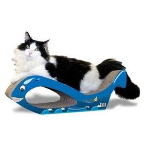 Imperial Cat Scratcher Large Whale-Orca