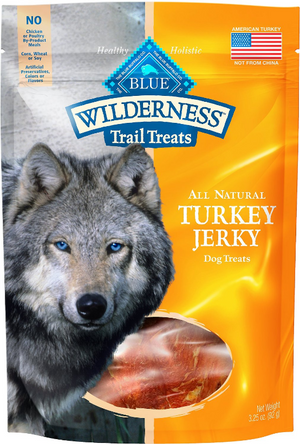 Blue Buffalo Wilderness Jerky Turkey 3.25 oz.