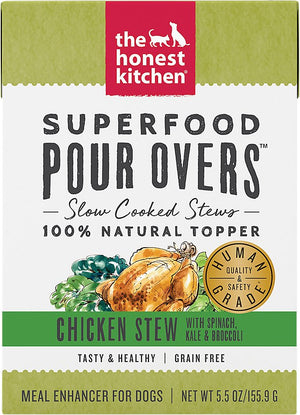 Honest Kitchen Superfood Pour Overs Chicken & Veggies