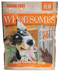Wholesome Heidis Chicken Jerky Strips 25 oz.