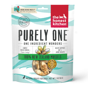 Honest Kitchen Freeze Dried Mussels 2 oz.