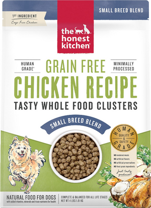 Honest Kitchen Clusters Grain Free Small Breed Chicken
