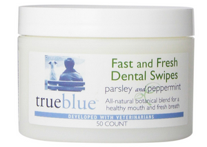 True Blue Fast & Fresh Dental Swipes 50 ct.