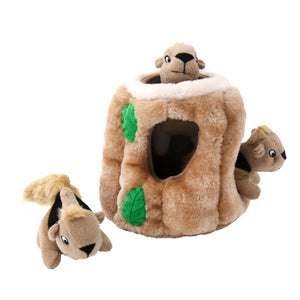 Hide-A-Squirrel Puzzle Plush Large