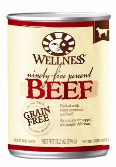 Wellness Grain-Free 95% Beef