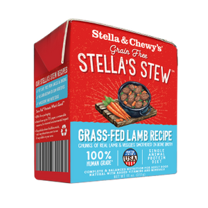 Stella & Chewy's Tetra Pack Grass-Fed Lamb Stew