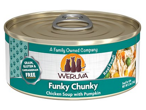 Weruva Cat Grain-Free Funky Chunky Chicken Soup with Pumpkin