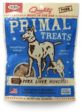 Primal Pork Liver Munchies 2 oz.
