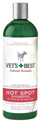 Vets Best Hot Spot Shampoo 16 oz.