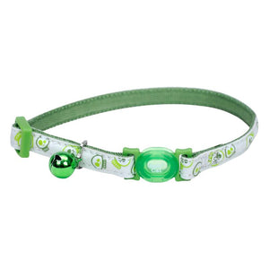 Coastal Safe Cat Glow in the Dark Adjustable Breakaway Collar
