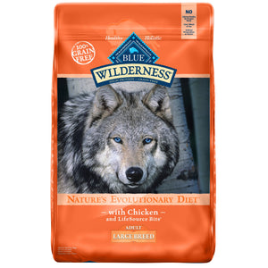 Blue Buffalo Wilderness Large Breed Adult 24 Lb.