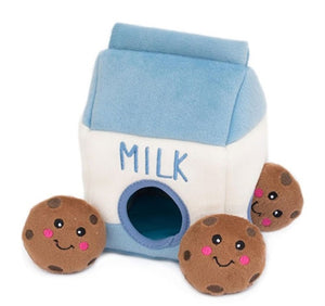 Zippy Paws Milk & Cookies
