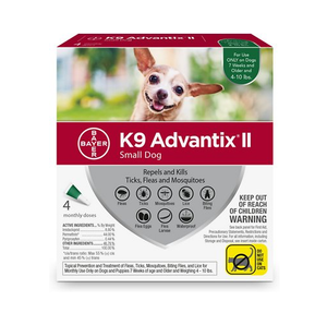 K9 Advantix II - 4 Pack