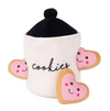Zippy Paws Valentine Burrow Cookie Jar